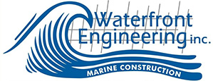 Waterfront Engineering Inc. header logo